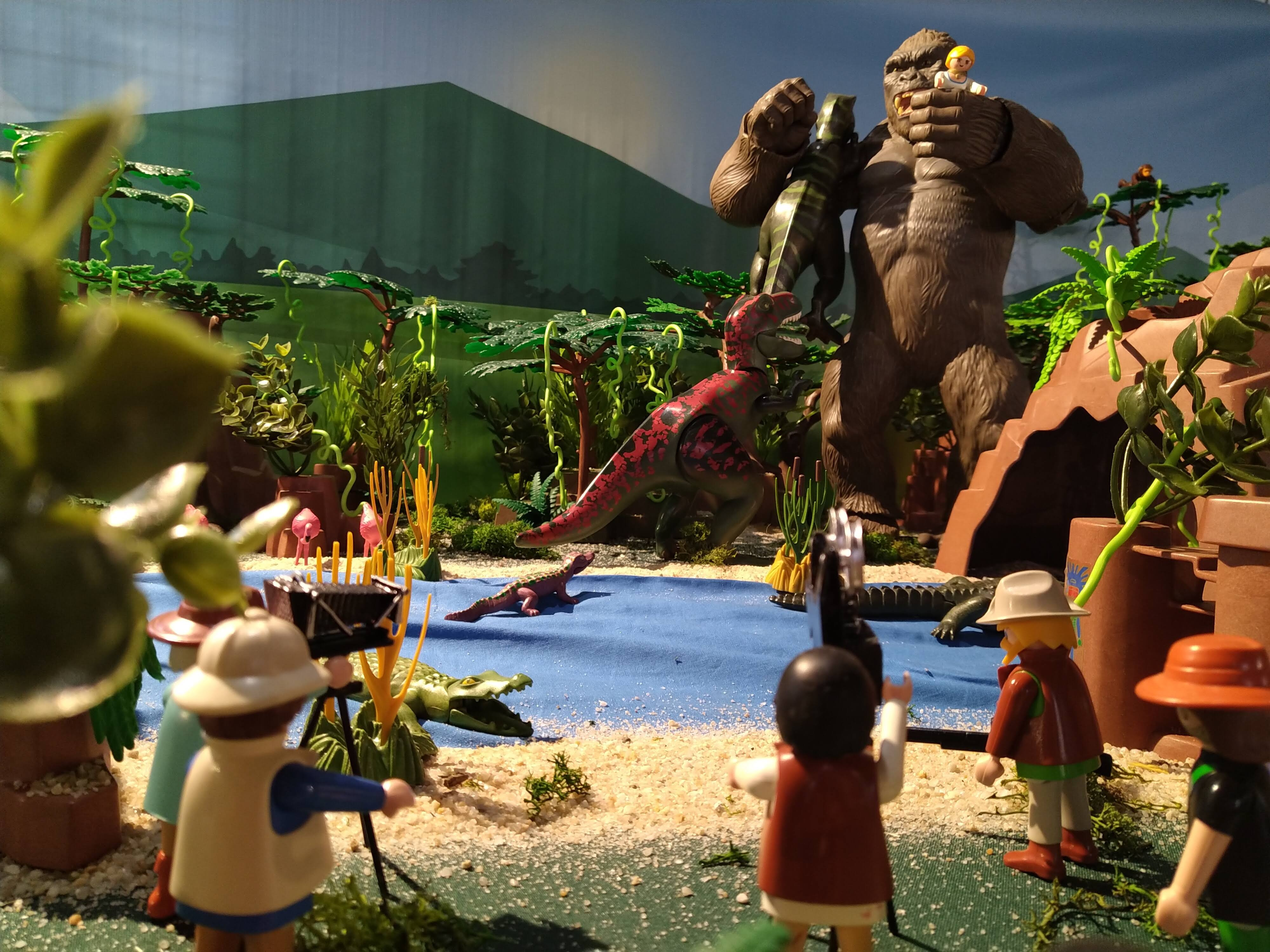 Kingkong en playmobil