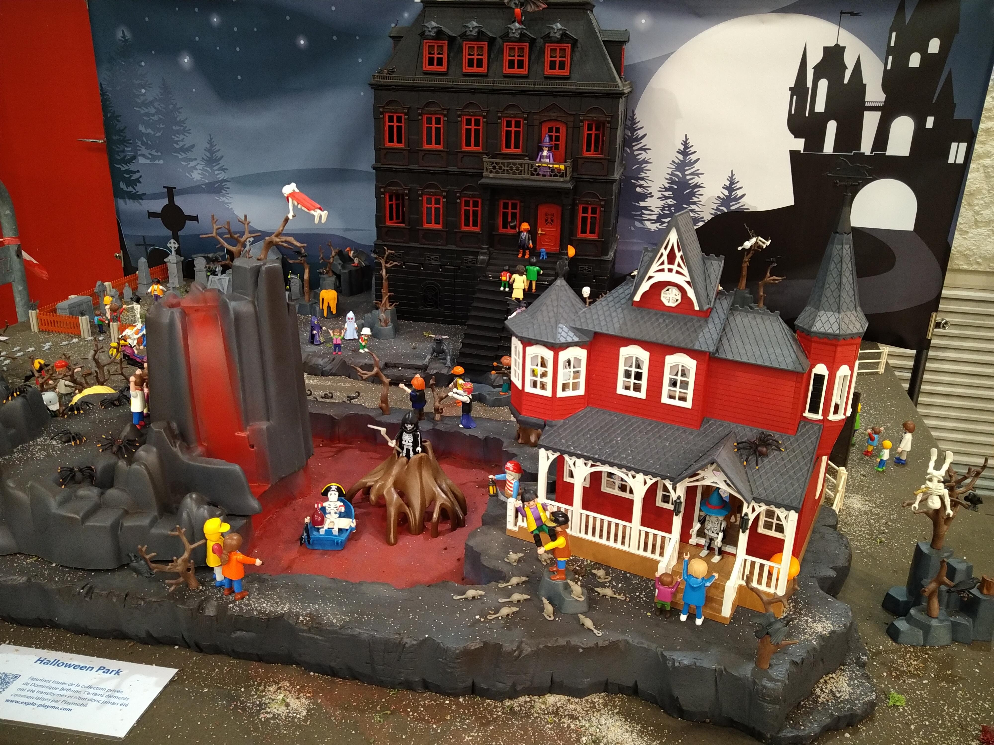 Legendes d halloween en playmobil