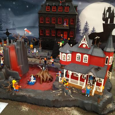 Legendes d halloween en playmobil