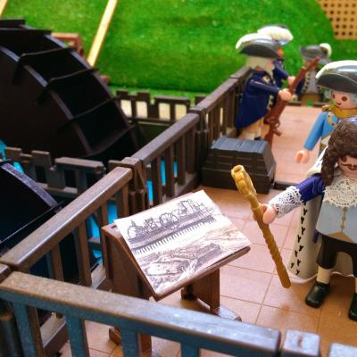 La Machine de Marly de Louis XIV en Playmobil