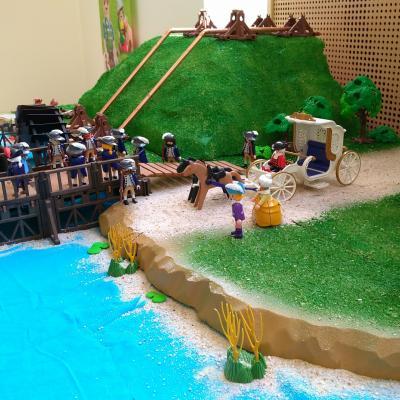 La Machine de Marly imaginée par le roi Louis XIV en Playmobil