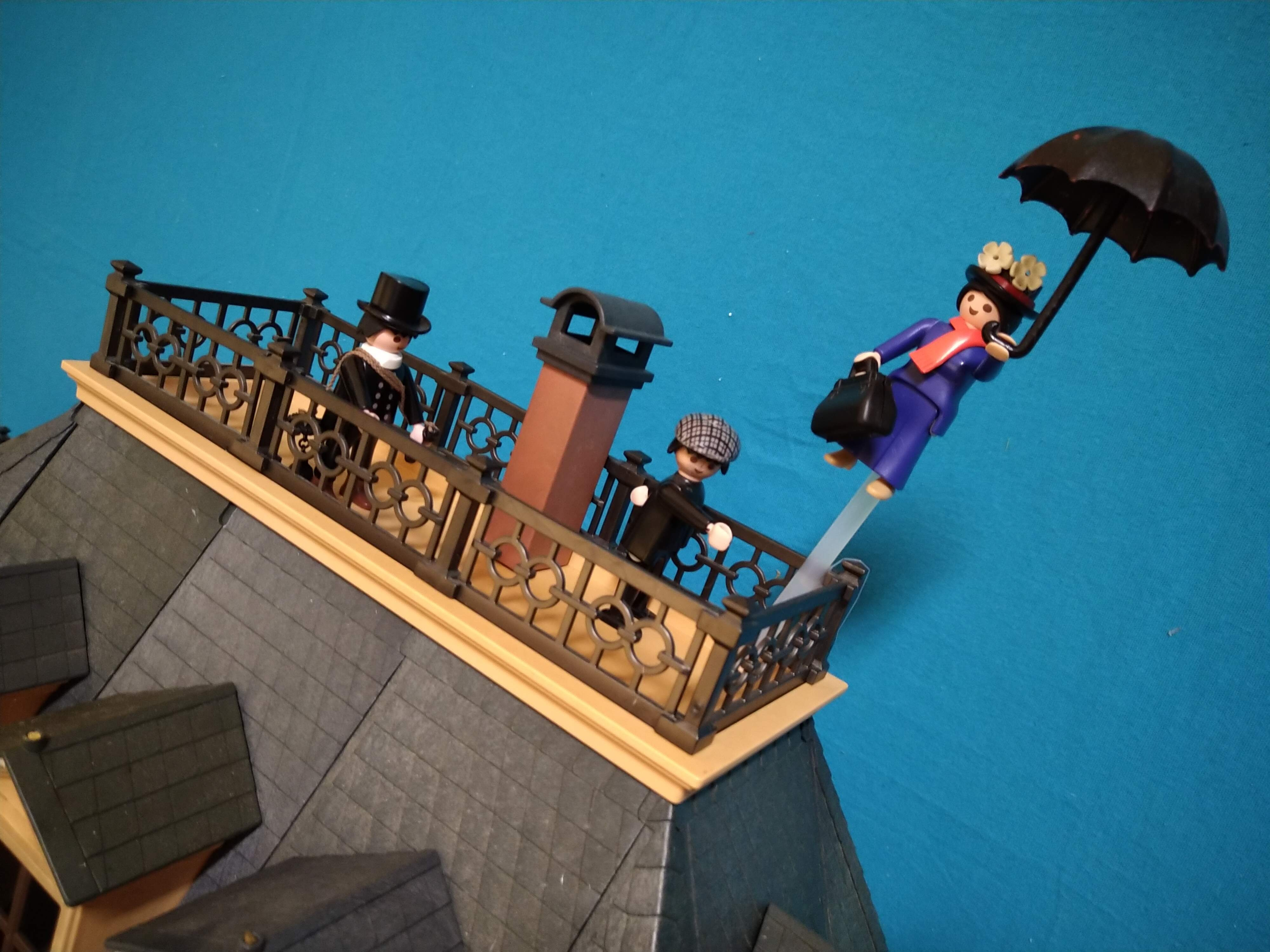 Mary poppins en playmobil