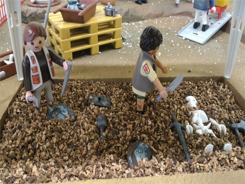 Exposition Playmobil au Musée de l'archéologie et de l'antiquité de l'Oise