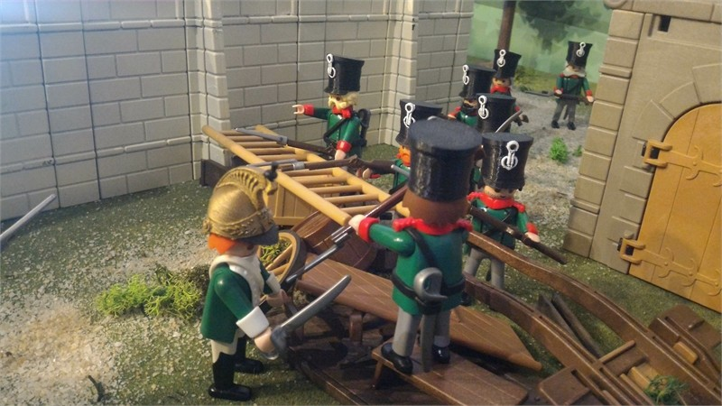 Bataillle de Ligny en Playmobil - 16 juin 1815
