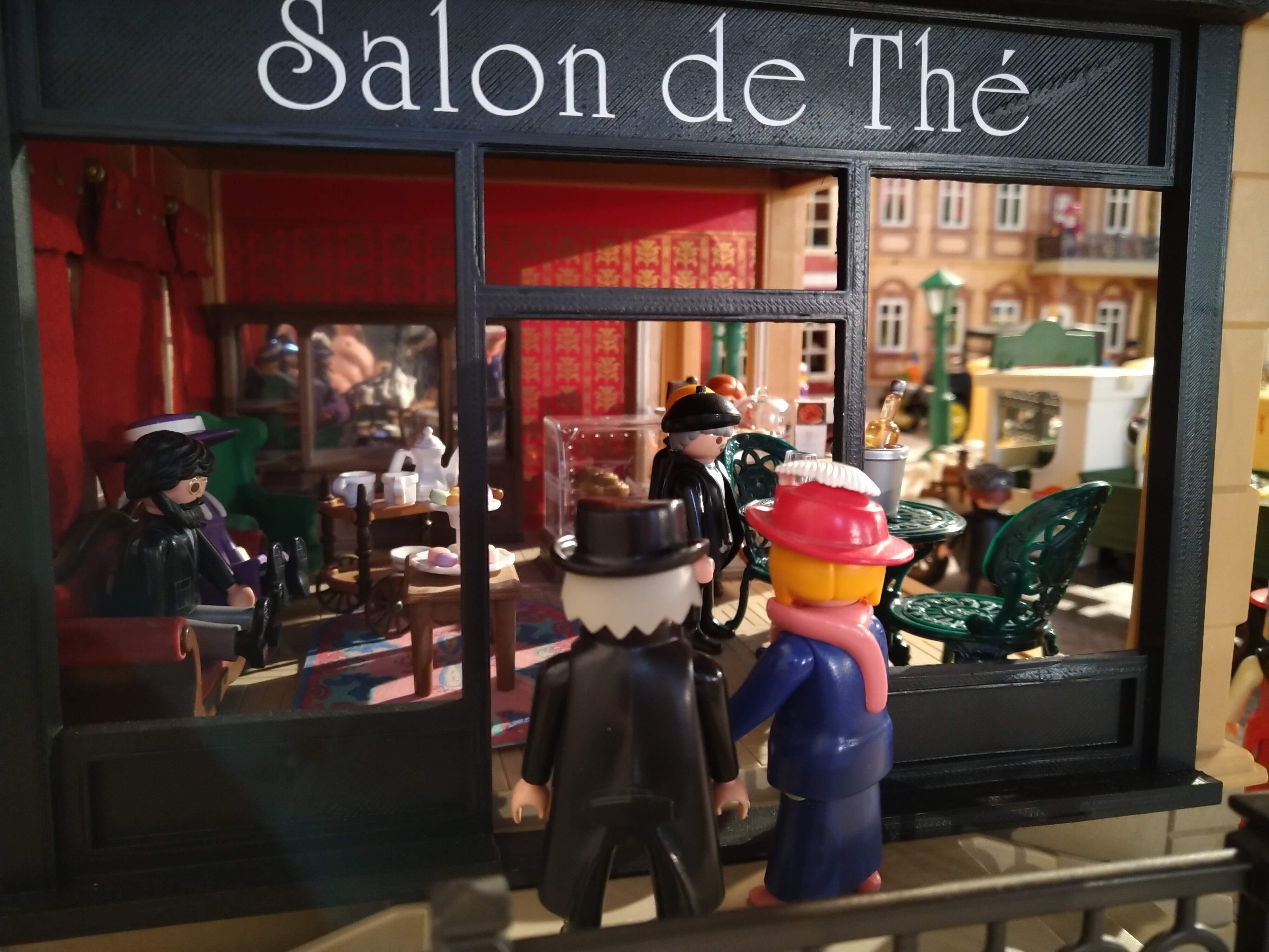Paris en 1900 en playmobil