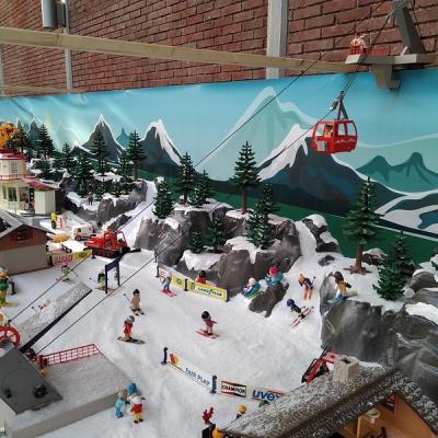 Vacances aux sport d'hiver en Playmobil