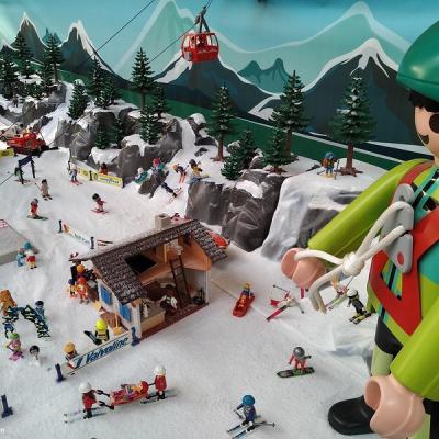 Vacances aux sports d'hiver en Playmobil