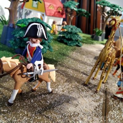 Zarafa la girafe mascotte de la gendarmerie depuis Charles X