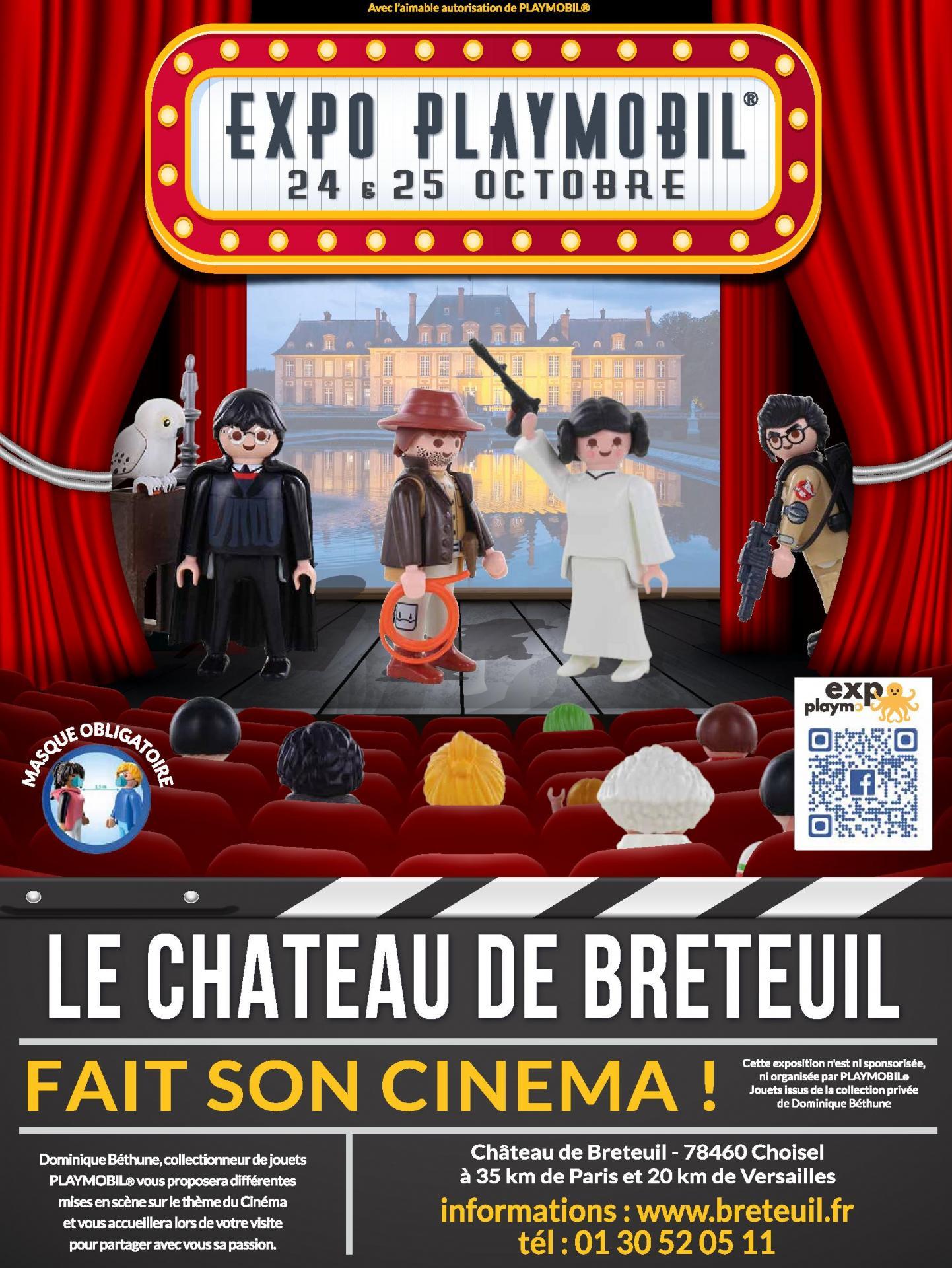 3ème Exposition Playmobil au Château de Breteuil