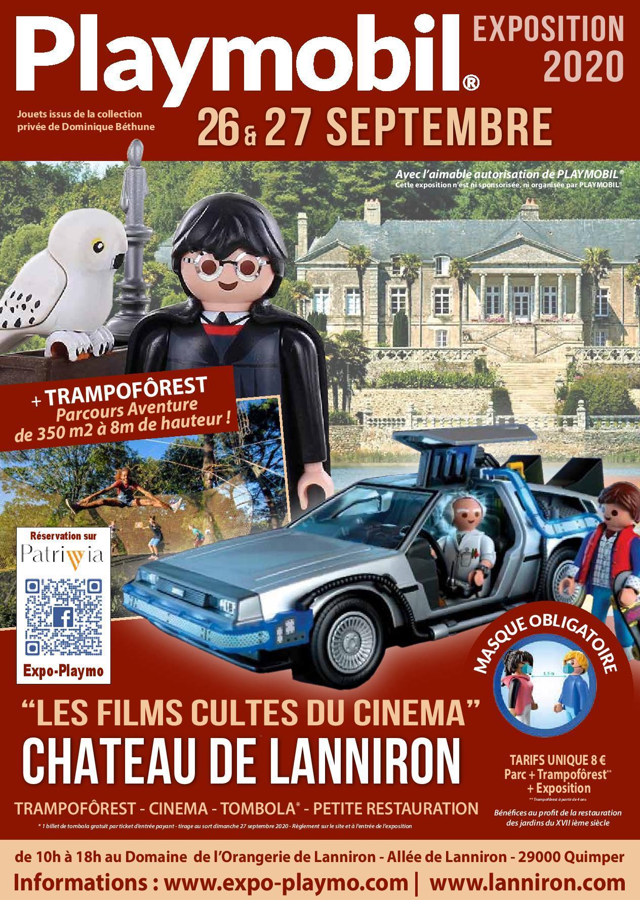 Exposition Playmobil au Domaine de LANNIRON