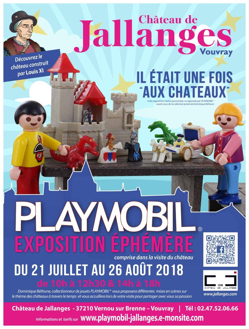 Exposition playmobil au chateau de jallanges ete 2018 v2