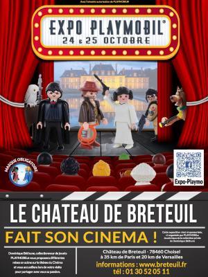 Exposition playmobil chateau de breteuil 2020
