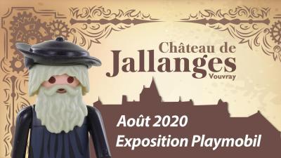 Exposition playmobil Château de JALLANGES 2020 par dominique bethune