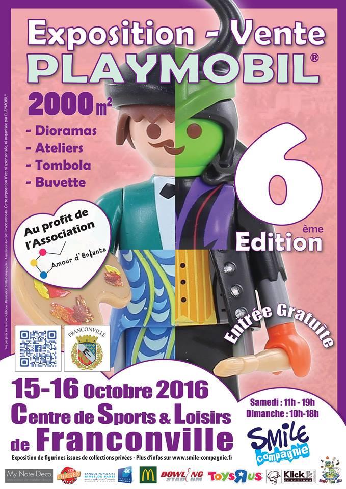 Exposition playmobil de franconville 2016