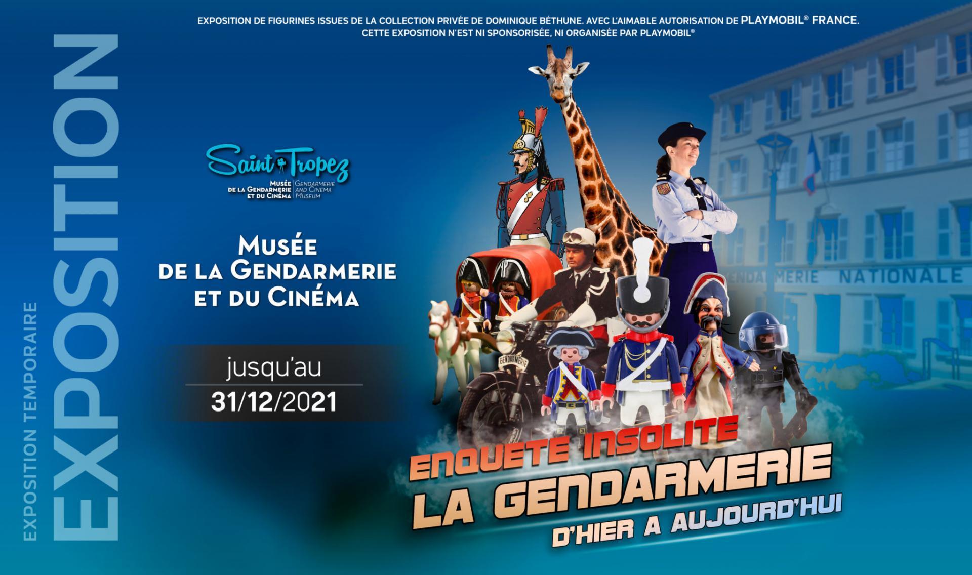Exposition playmobil gendarmerie saint tropez