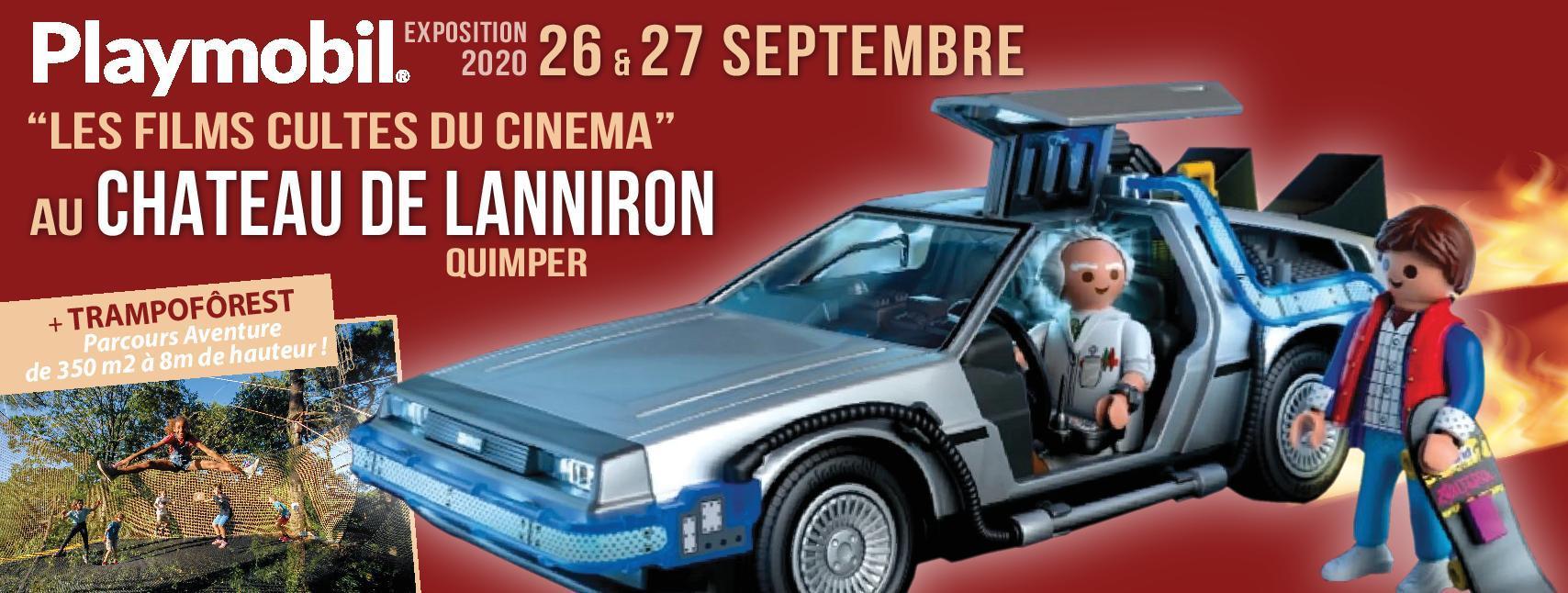 Exposition playmobil lanniron quimper 2020