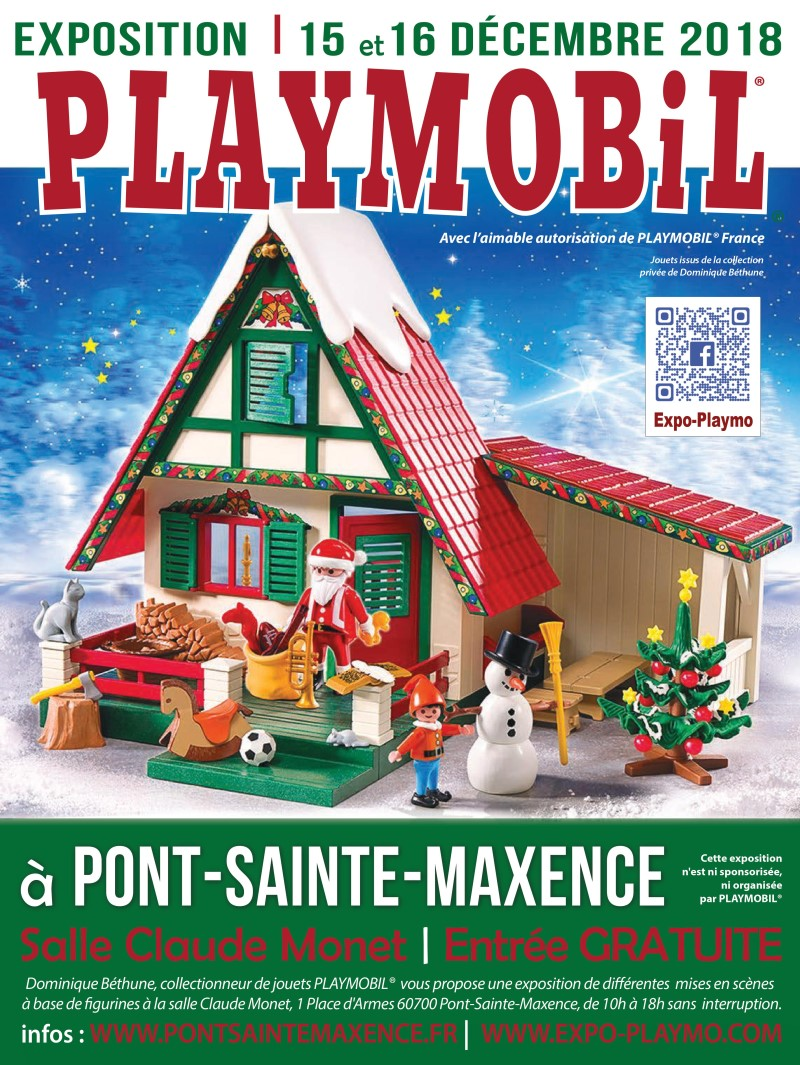 Exposition playmobil pont sainte maxence 60