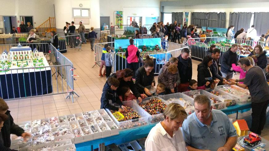 Exposition playmobil saint romain le puy dominique bethune