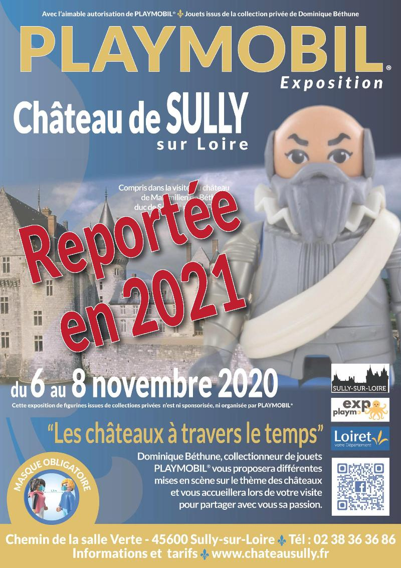 Exposition Playmobil au Château de Sully Sur Loire