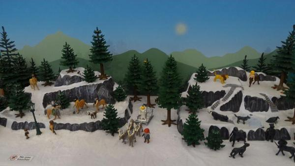 Faire une exposition playmobil decor narnia dominique bethune