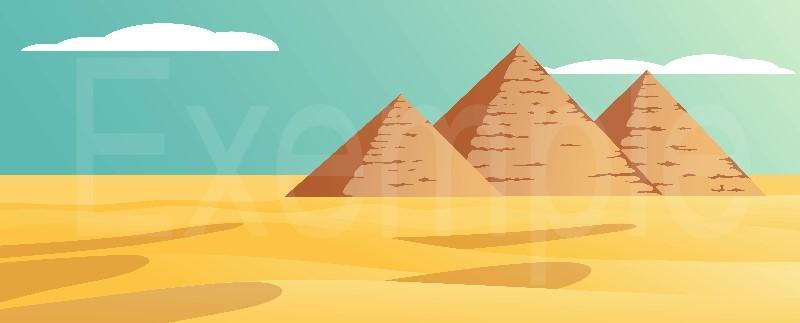 COMMANDER Fond diorama Egypte pour Playmobil