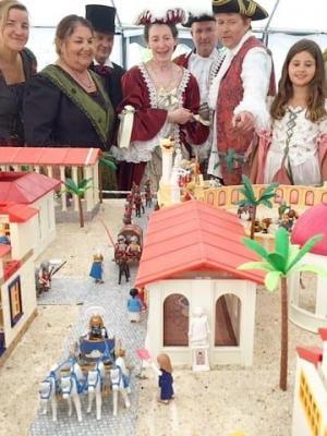 Organiser exposition evenement playmobil dans un chateau