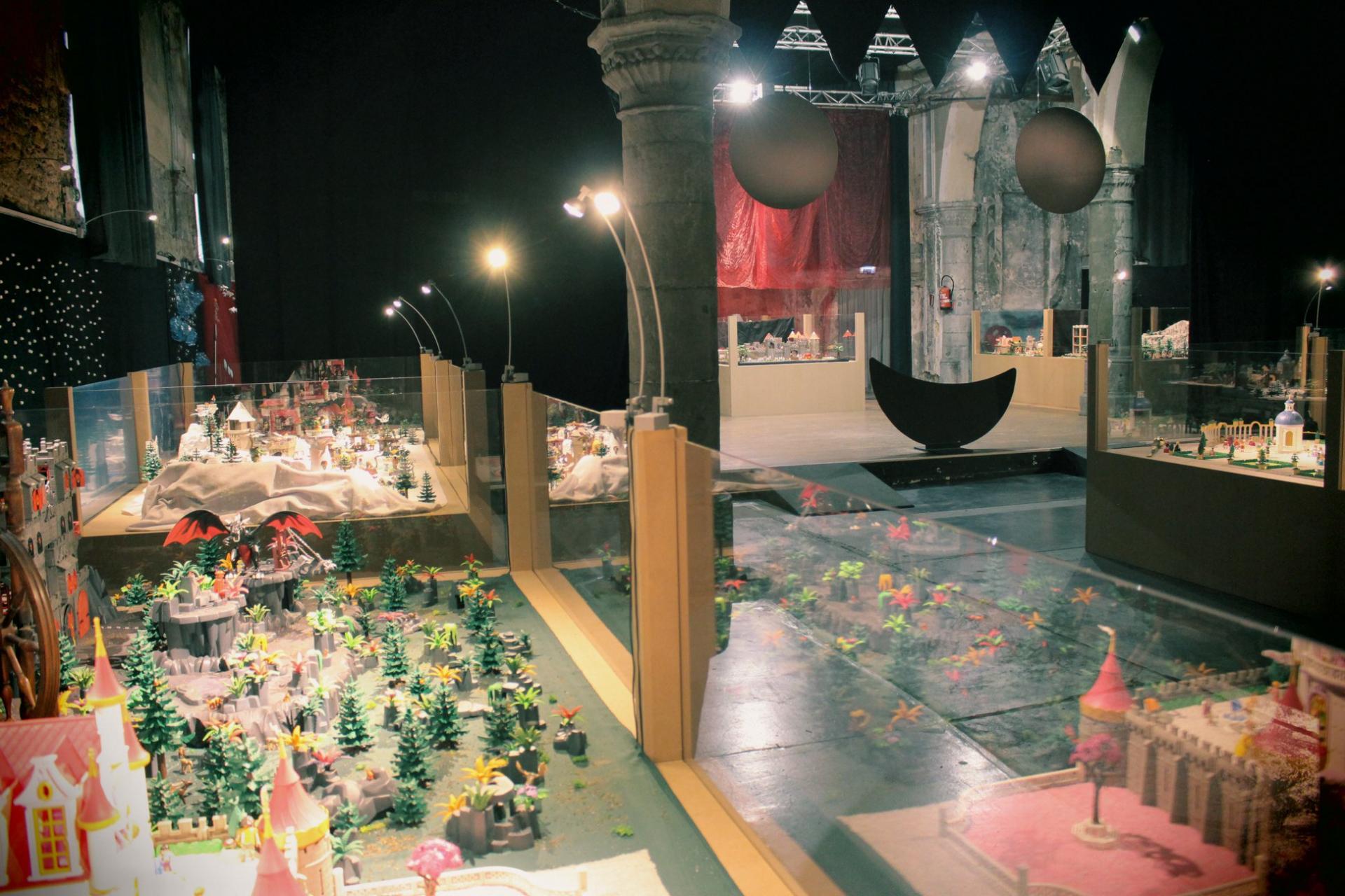 Organiser une exposition playmobil par dominique bethune