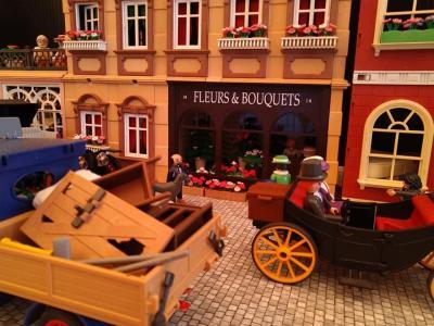 Playmobil 5300 boutique 1900 fleur