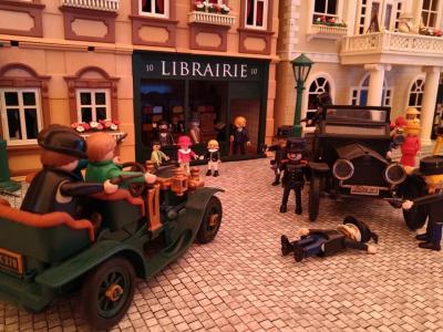 Playmobil 5300 boutique 1900 librairie