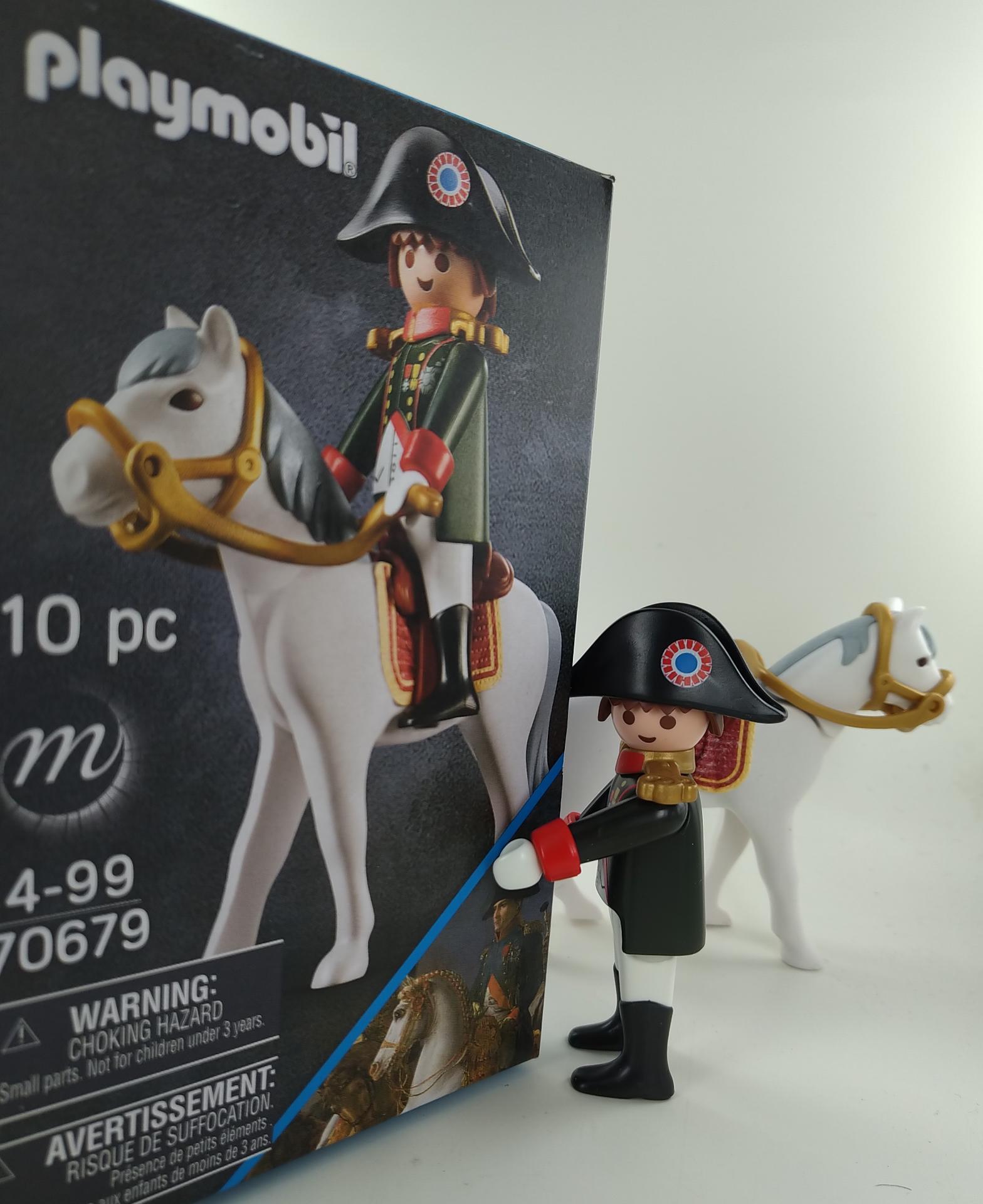 Playmobil napoleon 70679 empereur et boite