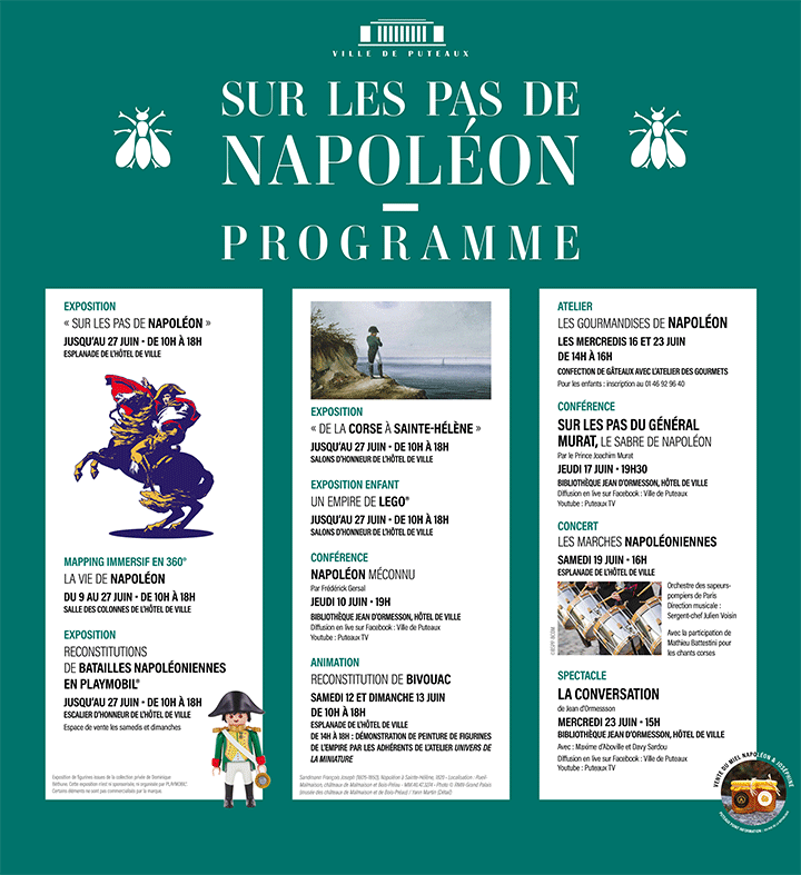 Programme exposition playmobil napoleon